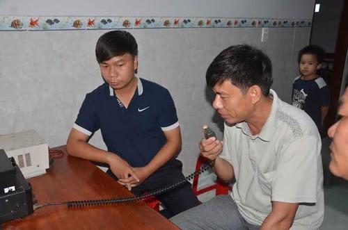 Hình ảnh Tàu cá của ngư dân Việt bị đâm chìm trên biển số 1