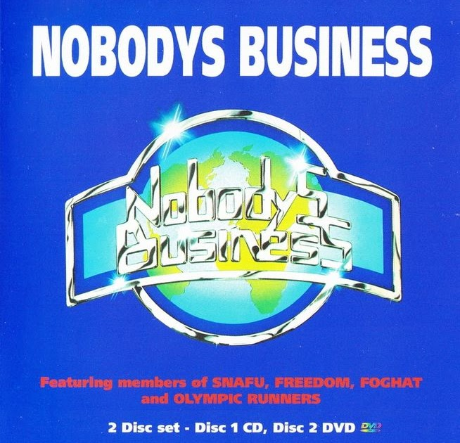 nobodys business Nobodys business 180 likes blues/rock covers band based in edinburgh.