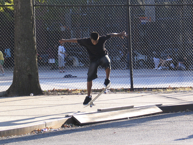 Skateboarder, Brooklyn
