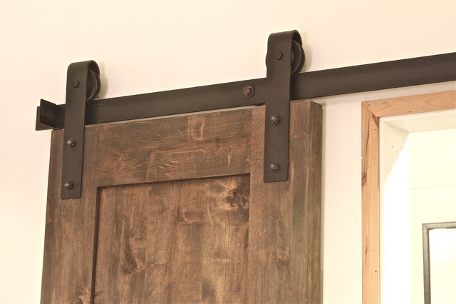 Industrial Barn Door Hardware - contemporary - hardware - salt ...
