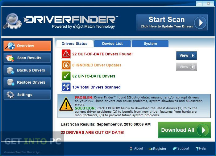 DriverFinder Offline Installer Download
