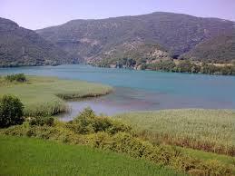 Το σημείο του Αχελώου όπου πνίγηκαν οι Οθωμανοί. Σήμερα τα νερά είναι σε ελεγχόμενη ροή, λόγω του τεχνικού φράγματος του Καστρακίου