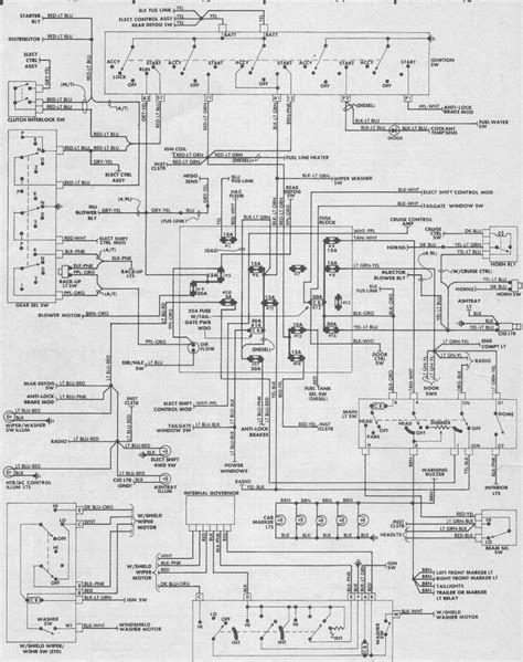 1987 Ford F150 Fuse Wiring Diagram - Ford Truck
