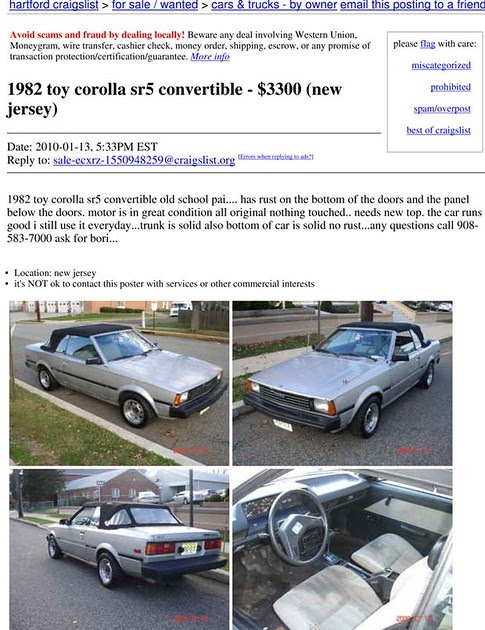 Hartford Craigslist Cars For Sale By Owner - Car Sale and ...