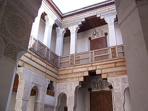 Architecture in Fes, Morocco