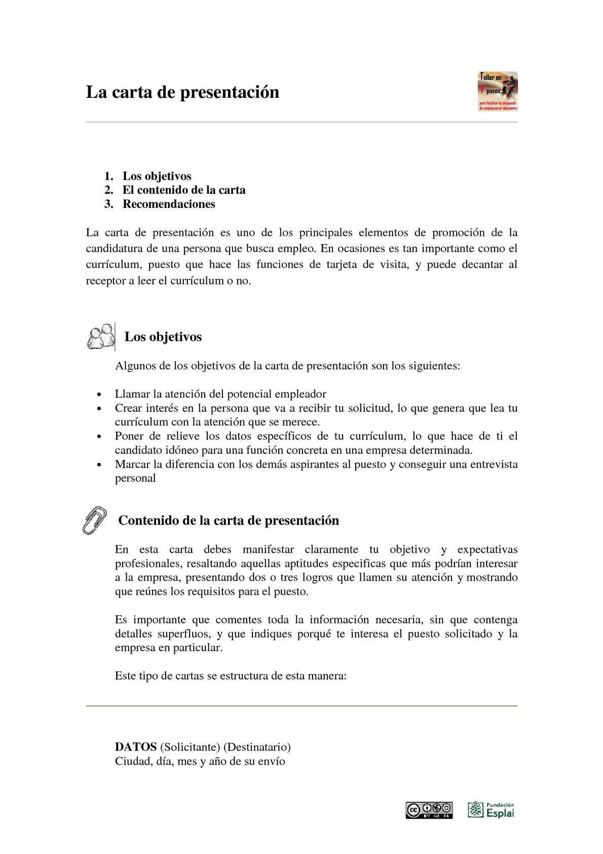 Carta De Motivacion Beca Ejemplo M Carta De