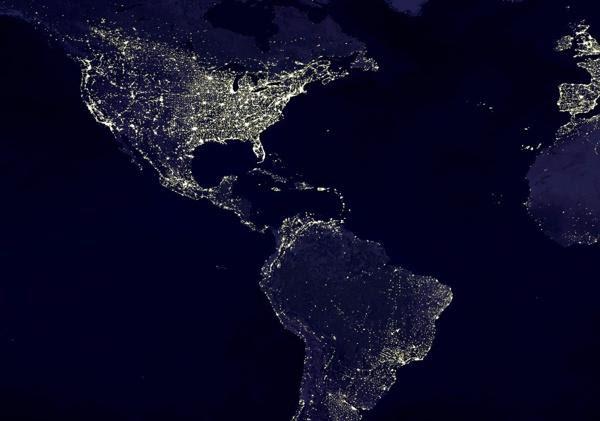 terra de noite