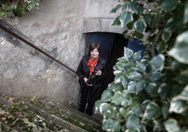 Η ιδιοκτήτρια του κρασιού Λόρενς Μαρμιέρ. Φωτογραφία: AP