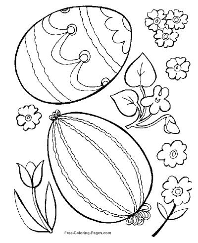 51 Top Coloring Book Pages Easter  Images