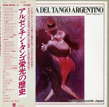 V/A la historia del tango argentino