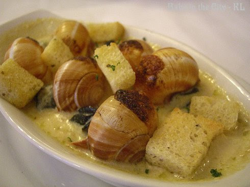 Golden Garlic Escargot (RM16)
