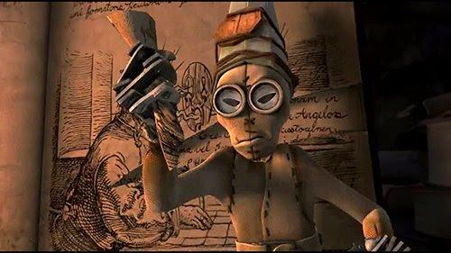 Cuando las muñecas abren Peracelsus ', 1 lágrimas la página de la descripción de su propia creación.