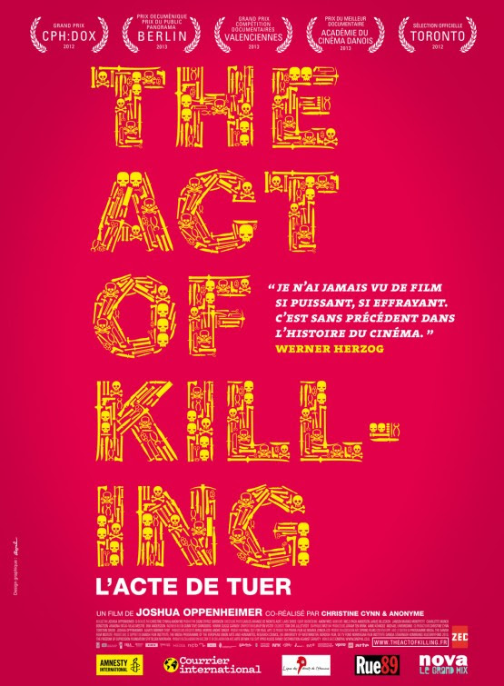 Risultati immagini per the act of killing 2012 poster