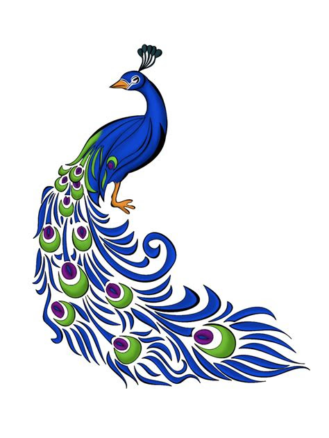 peacock clipart   clip art