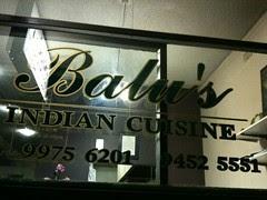 Balu's Indian Cuisine