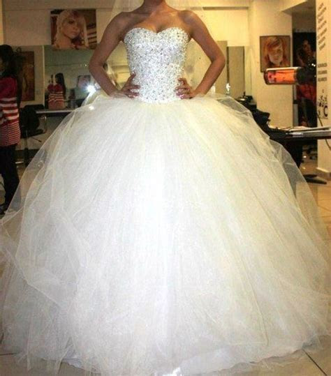 Wedding Dress. I love the top, the bottom is too puffy