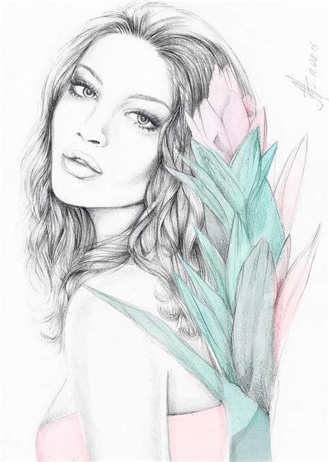 watercolour art illustration fashion design graphic