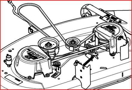 John Deere 42 Inch Mower Deck Parts Diagram