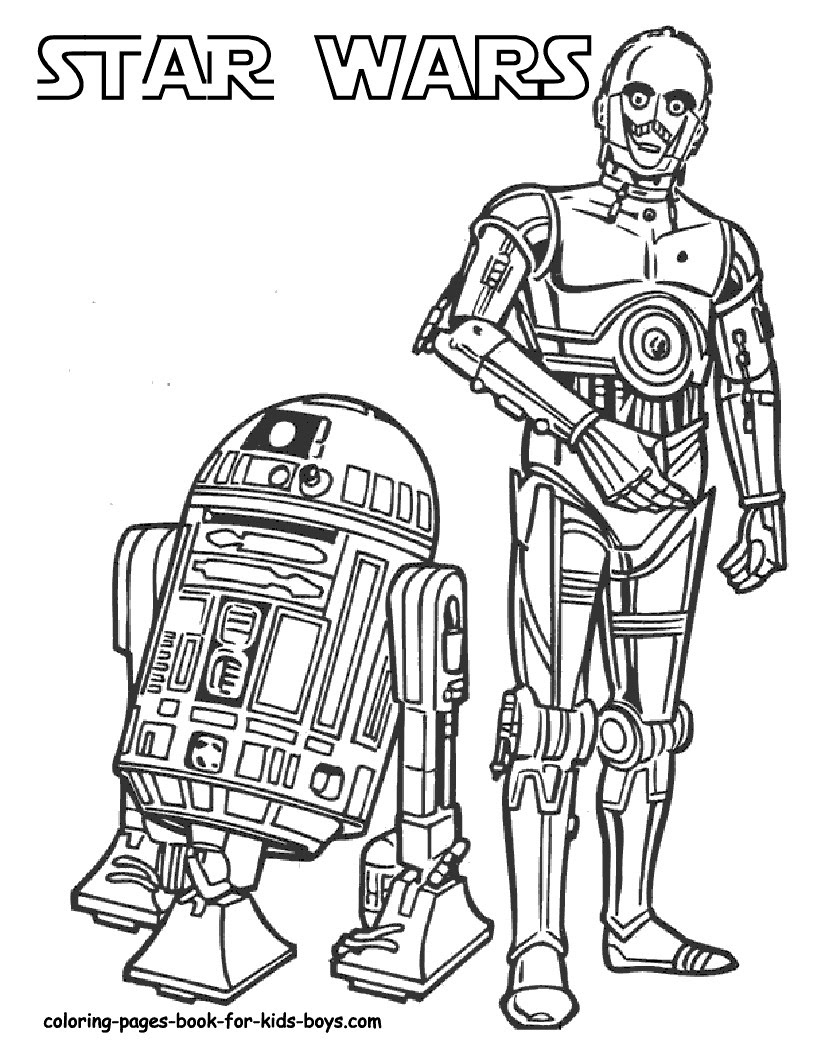 Download Star Wars Coloring Pages 2018- Dr. Odd
