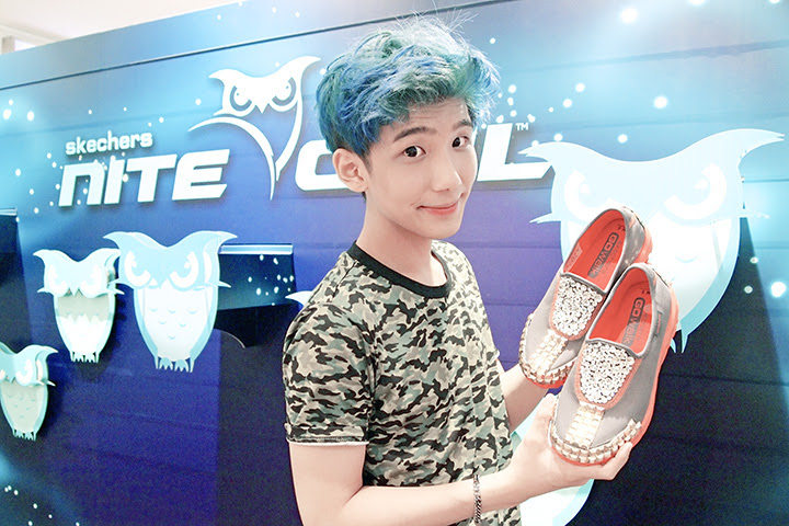 typicalben with skechers shoes designed