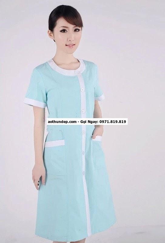 mẫu trang phục y tế mới