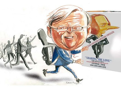 Popular ... Kevin Rudd. <em>Illustration: Rocco Fazzari</em>