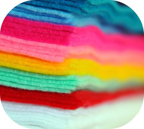 Rainbow of Felt