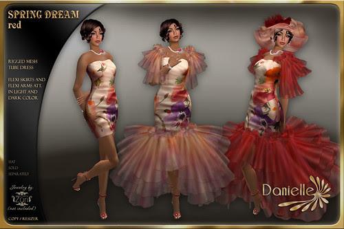 DANIELLE Spring Dream Red
