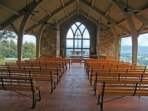 Chapel at Camp Mitchell on Petit Jean Mountain, photo by