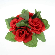 silk flower candle wreath