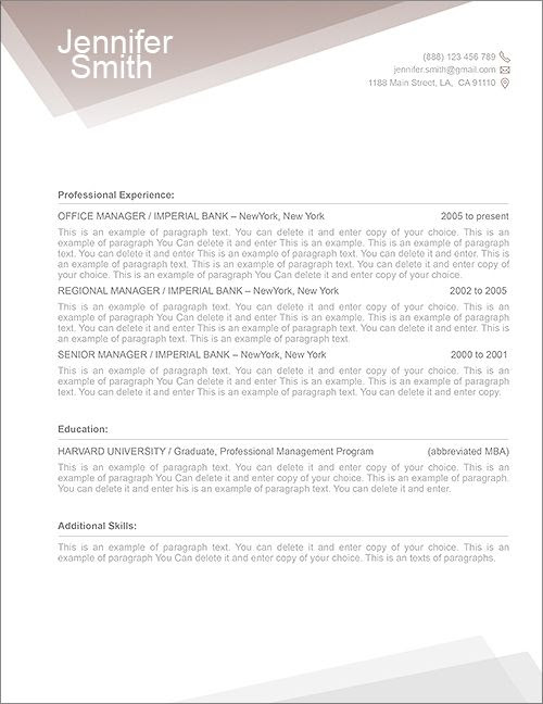 Cover Letter Example: Cover Letter Template Mac