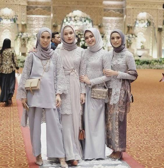 Desain Kebaya Brokat Muslim Modern - Galeri Busana dan ...