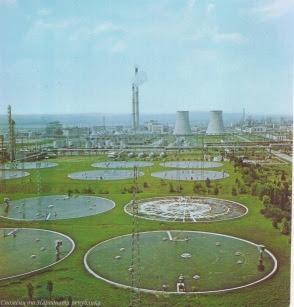 Нефто-химическият комбинат в Бургас