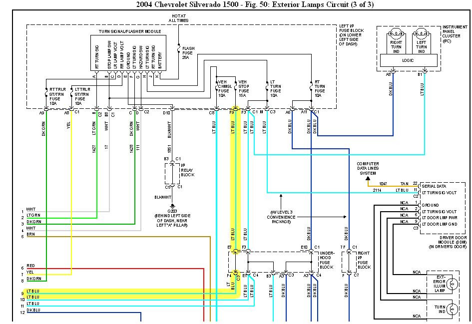 View 2006 Chevy Tail Light Wiring Diagram Gif