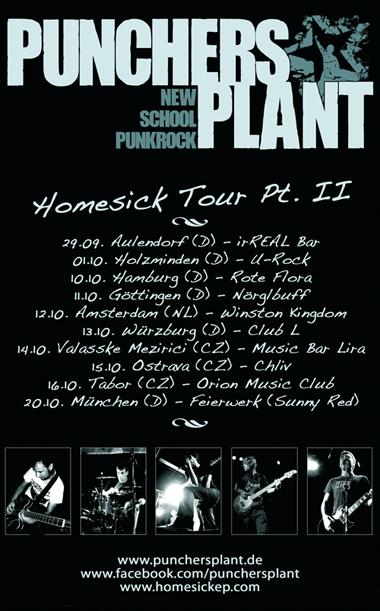 <center>[TOUR] Punchers Plant Homesick Tour Pt. II</center>