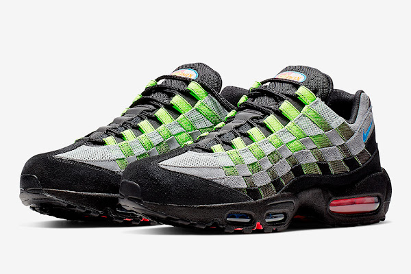 super popular edcd2 e73ff The Nike Air Max 95 Gets Transformed With Intertwined Woven Uppers