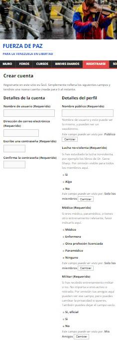 registro plataforma we fuerza venezuela