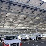 Corbas | Le plus grand parc d'ombrières photovoltaïques français a été installé entre Corbas et Saint-Priest
