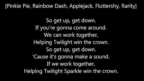 My Little Pony Song Lyrics Hey Hey Everybody