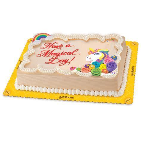 Unicorn Greeting Cake