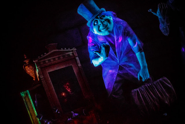 Haunted Mansion - A Hitch Hiking Ghost