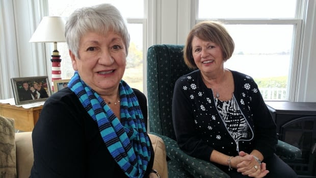 Betty Wilsack and her sister Margaret Renouf have shared a home for decades.