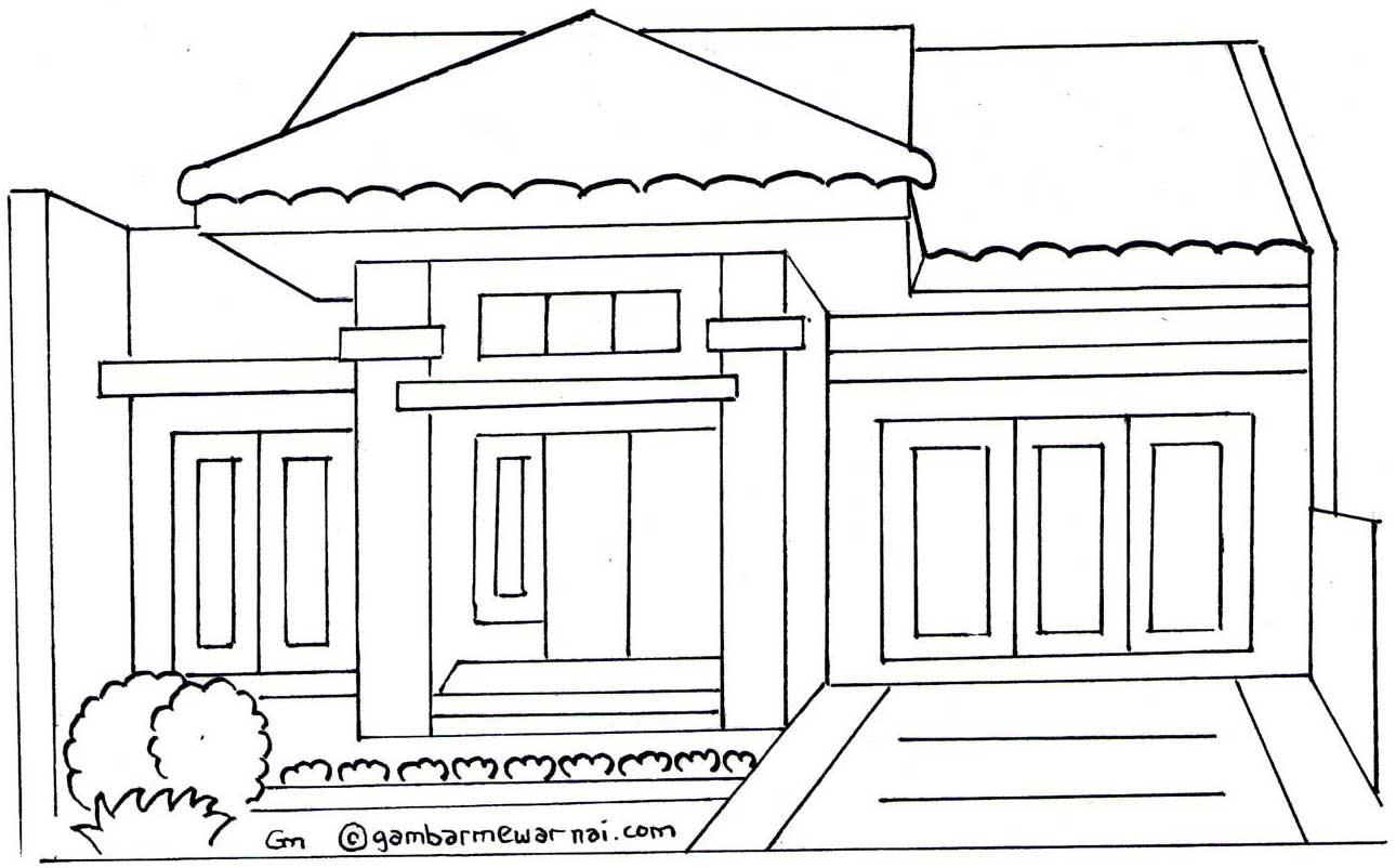 Gambar Rumah Tingkat Animasi UU Rumah