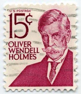 Oliver Wendell Holmes, Jr. 1968 15 cent US postage stamp