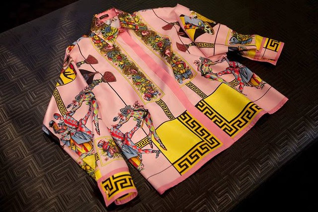 Versace silk shirt 5