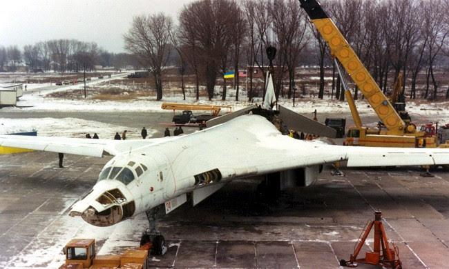 El Tu-160 Blackjack, entre Rusia y Ucrania