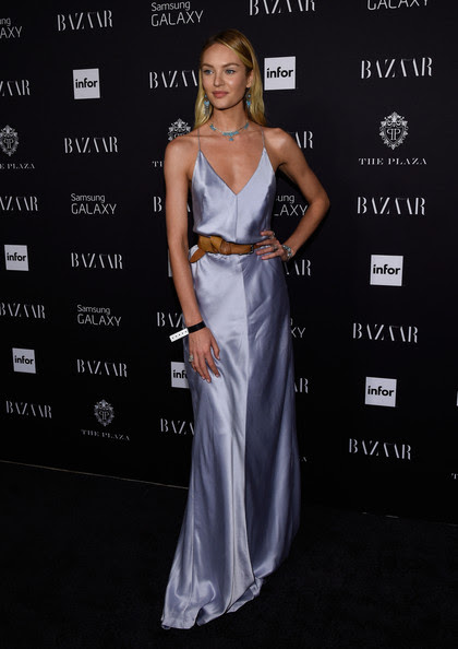 Candice Swanepoel in Kaufman Franco