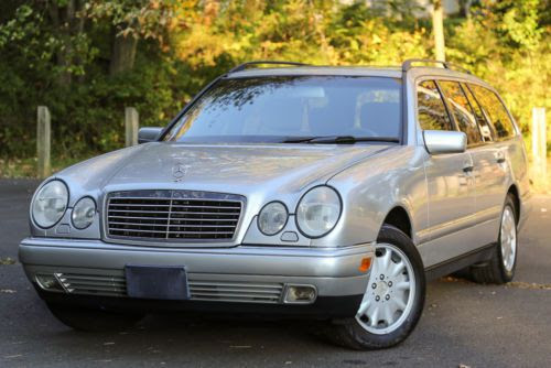 Purchase used 1999 Mercedes BENZ E320 WAGON 3rd ROW Seat ...