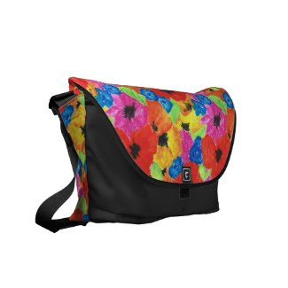 Poppies and Cornflowers Messenger Bag