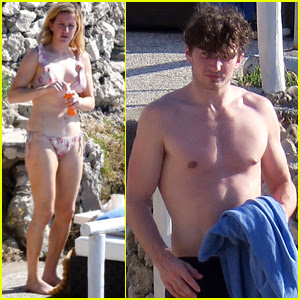 Ellie Goulding Shows Off Her Bikini Body on Italian Getaway with Boyfriend Caspar Jopling